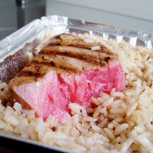 Energize Me Foods' Tuna Steak