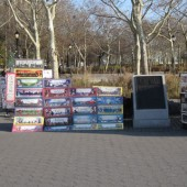 Art Vendors in Battery Park