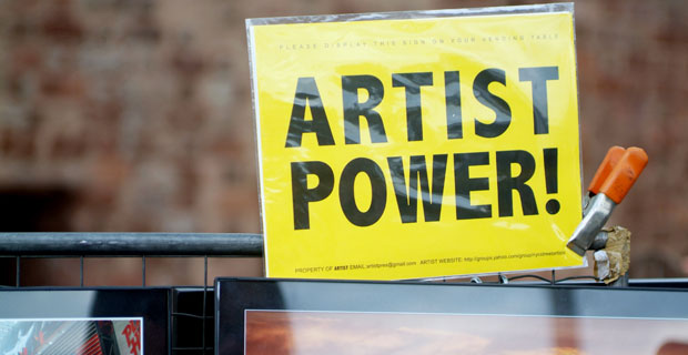 Art Vendor Restrictions Affect Battery Park