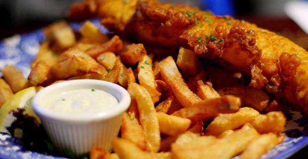 Race to my Place: Fish N' Chips