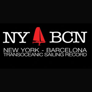 New York - Barcelona Transoceanic sailing record
