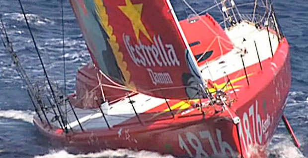 New York Barcelona Transoceanic Sailing Record