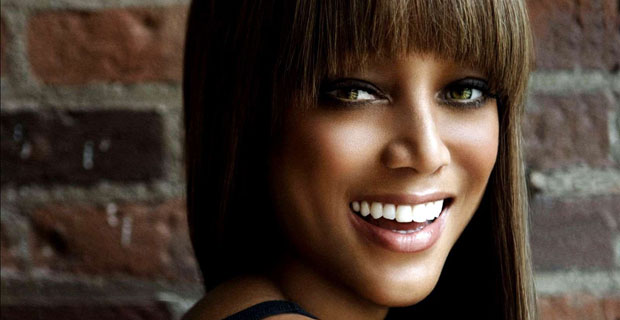 Tyra Banks Bangs It Up in Construction