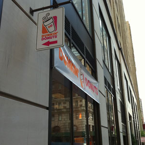 Dunkin Donuts at 88 Greenwich