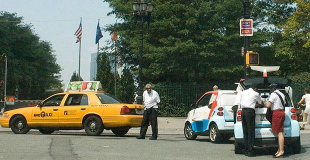 Battery Park City parking changes