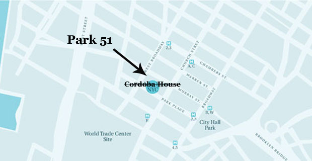 Park 51 is the new name for the Cordoba House Mosque