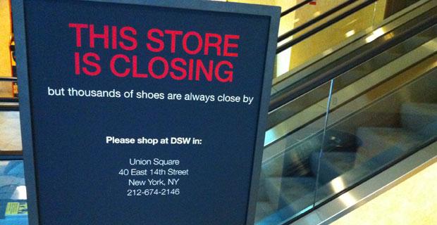 DSW Battery Park City Closing