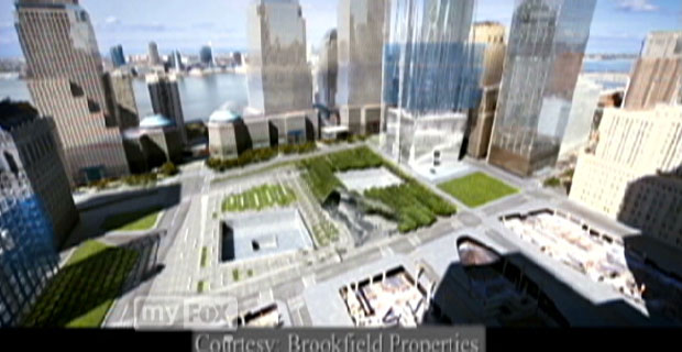 World Trade Center Site Time Lapse Video Screen shot