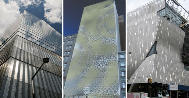 Park51 Architecture may be influenced by Cooper Union and 7 World Trade Center
