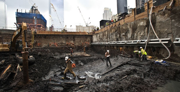 18th Century Ship Found At World Trade Center Site