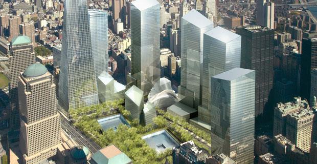 Slated World Trade Center Graphic