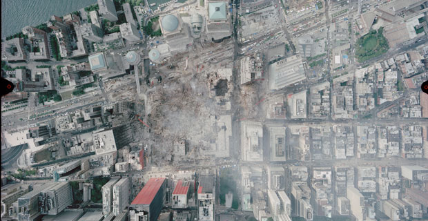 Defining Ground Zero beyond the footprints of the Twin Towers