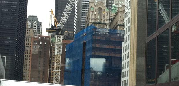 Deutsche Bank 130 Liberty Street Deconstruction