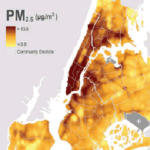 Particulate Matter in New York City