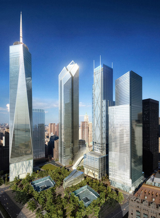 New World Trade Center by Day (Courtesy: Silverstein Properties)