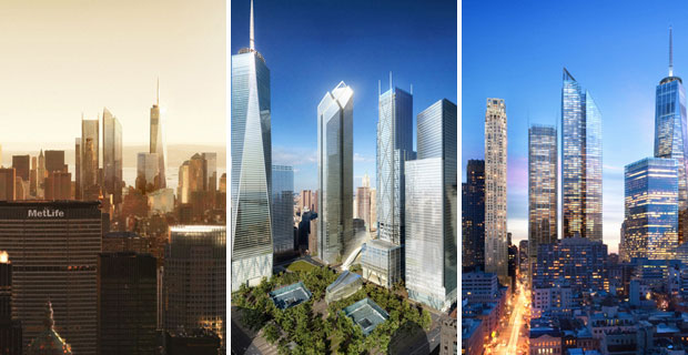Future renditions of the World Trade Center