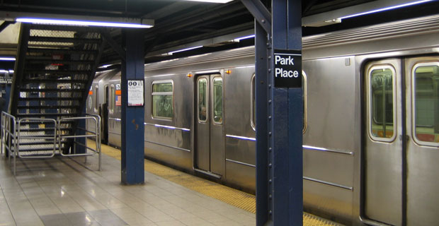 Park Place Subway Station