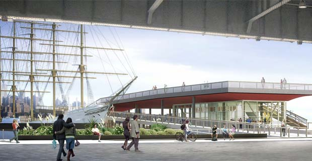 East River Waterfront, Pier 15