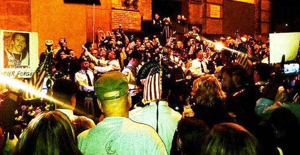 Crowds Flock to Ground Zero After News of Bin Laden's Death