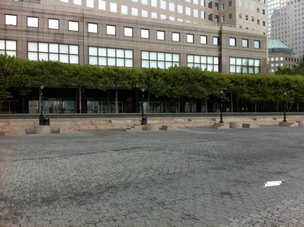 Battery Park City Evacuated