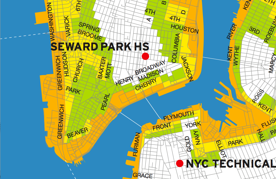 MANDATORY EVACUATION FOR ZONE A: BATTERY PARK CITY