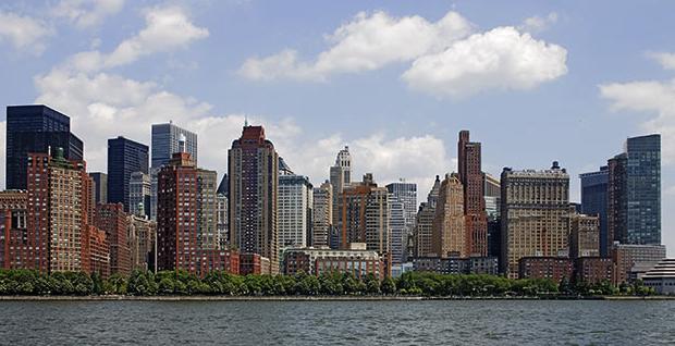 Battery Park City South Skyline